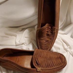 Leather Docker Loafers
